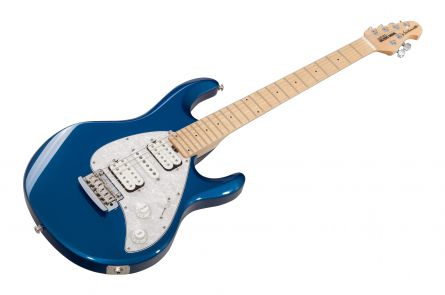 Music Man USA Silhouette HSH Trem BP - Blue Pearl MN