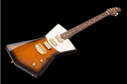 Music Man USA St. Vincent HHH Guitar TB - Tobacco Burst - Rosewood Neck & Gold Hardware Limited Edition