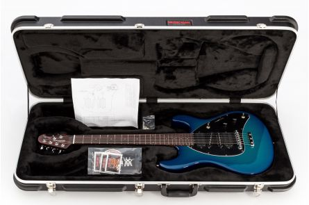 Music Man USA Steve Morse STD MBB - Morse Blue Burst - Rosewood Neck Limited Edition
