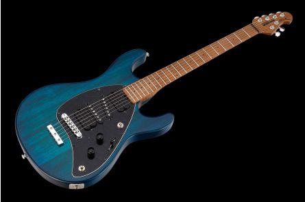 Music Man USA Steve Morse STD NB - PDN Neptune Blue Roasted Neck Limited Edition MN