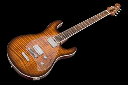 Music Man USA Steve Morse Y2D STD BFR Caramel Burst - Limited Edition