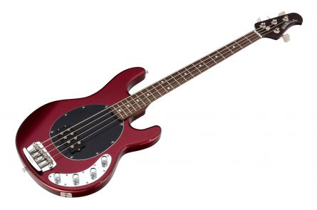 Music Man USA Stingray 4 CR - Candy Red - Rosewood Neck Limited Edition