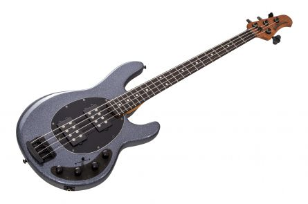 Music Man USA Stingray 4 Special HH CP - Charcoal Sparkle