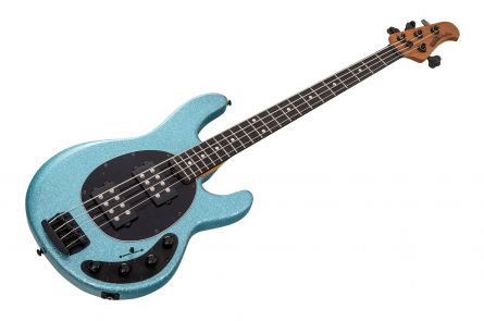 Music Man USA Stingray 4 Special HH SK - Aqua Sparkle