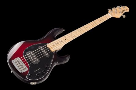 Music Man USA Stingray 5 HS BCB - Black Cherry Burst MN