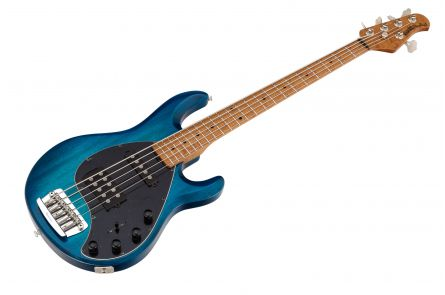 Music Man USA Stingray 5 HS NB - PDN Neptune Blue Roasted Neck Limited Edition MN
