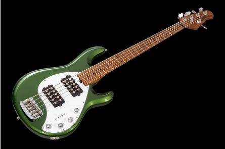 Music Man USA Stingray 5 Special HH EV - Charging Green MN