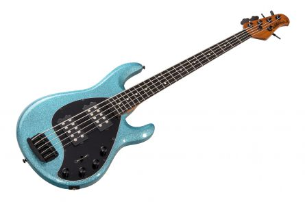Music Man USA Stingray 5 Special HH SK - Aqua Sparkle