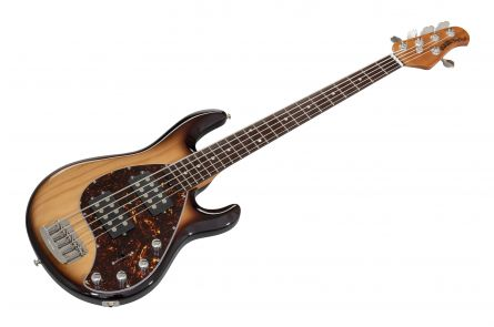 Music Man USA Stingray 5 Special HH WT - Burnt Ends