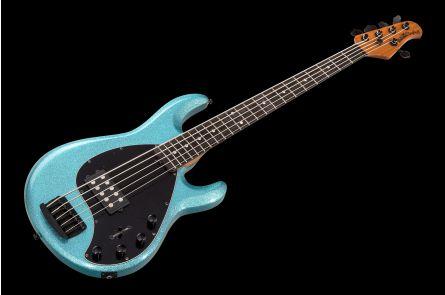 Music Man USA Stingray 5 Special SK - Aqua Sparkle