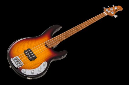 Music Man USA Stingray BFR Fretless - Vintage Sierra Burst - Limited Edition