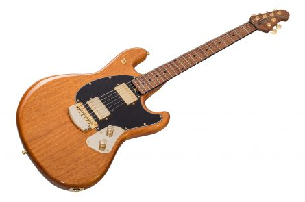 Music Man USA Stingray Guitar BFR CN - Classic Natural - Roasted Neck Limited Edition