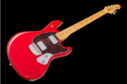 Music Man USA Stingray Guitar HC - Chili Red MN