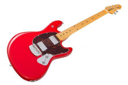 Music Man USA Stingray Guitar HC - Chili Red MN