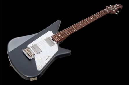 Music Man USA Albert Lee HH Trem CF - Charcoal Frost - Rosewood Neck