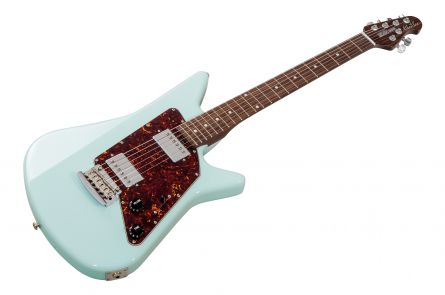Music Man USA Albert Lee HH Trem PWD - Powder Blue - Rosewood Neck