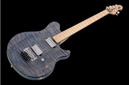 Music Man USA Axis BFR Steel Blue Flame - Limited Edition