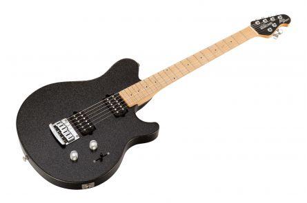 Music Man USA Axis Sport HH STD BKS - Black Sparkle MN MH