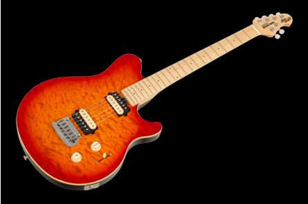 Music Man USA Axis Super Sport Trem HB - Honey Burst MN QT PV