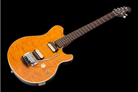 Music Man USA Axis TG - Translucent Gold - Rosewood Neck Limited Edition