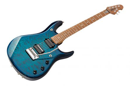 Music Man USA John Petrucci JP6 BFR QT NB - PDN Neptune Blue Roasted Neck Limited Edition MN