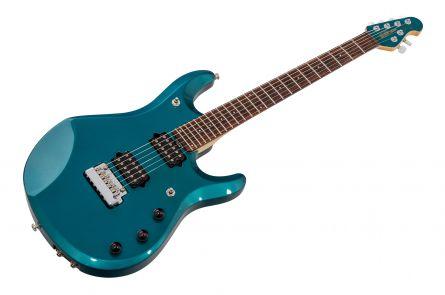 Music Man USA John Petrucci JP6 Piezo TE - Teal Pearl MH