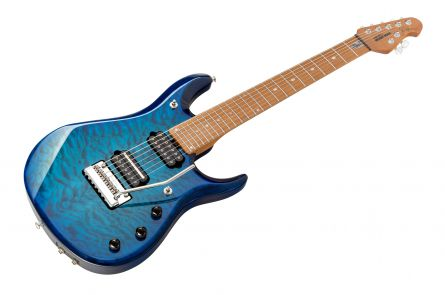 Music Man USA John Petrucci JP7 BFR QT NB - PDN Neptune Blue Roasted Neck Limited Edition MN