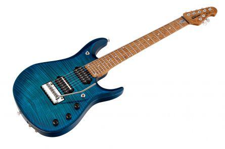 Music Man USA John Petrucci JP7 BFR FT NB - PDN Neptune Blue Roasted Neck Limited Edition MN