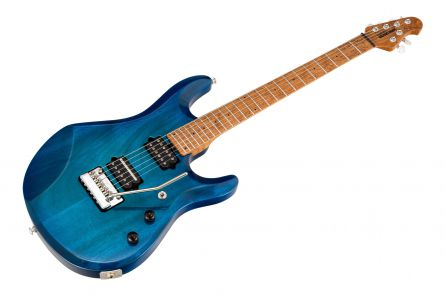 Music Man USA John Petrucci JP6 NB - PDN Neptune Blue Roasted Neck Limited Edition MN PV