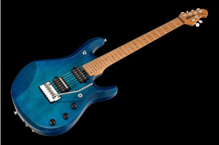 Music Man USA John Petrucci JP6 Piezo NB - PDN Neptune Blue Roasted Neck Limited Edition MN