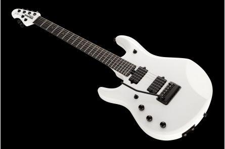 Music Man USA John Petrucci JP6 Piezo Lefthand SPL - Stealth Pearl