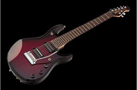 Music Man USA John Petrucci JP7 Piezo PRB - Pearl Redburst MH