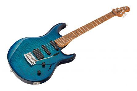 Music Man USA Luke BFR FT NB - PDN Neptune Blue Roasted Neck Limited Edition MN