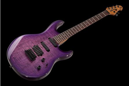 Music Man USA Luke III BFR HSS FT BB - Boysenberry Flame