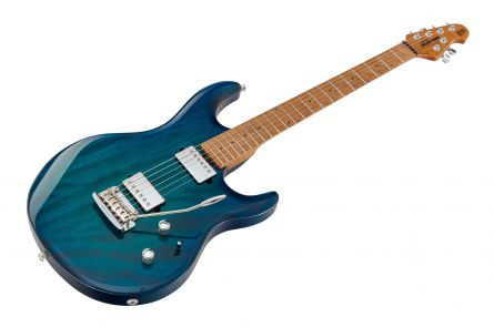 Music Man USA Luke III HH NB - PDN Neptune Blue Roasted Neck Limited Edition MN - 1pc-body PV