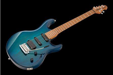 Music Man USA Luke NB - PDN Neptune Blue Roasted Neck Limited Edition MN