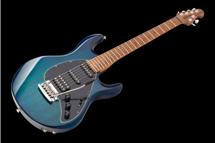 Music Man USA Silhouette Special HSS Trem Piezo NB - PDN Neptune Blue Roasted Neck Limited Edition MN PV