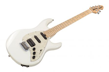 Music Man USA Silhouette Special HSS Trem Piezo WH - White MN