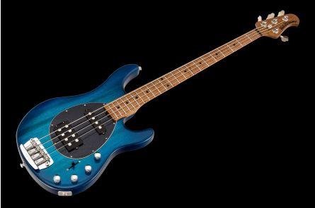 Music Man USA Sterling 4 HS NB - PDN Neptune Blue Roasted Neck Limited Edition MN