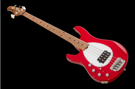 Music Man USA Sterling 4 Lefthand SR - Scarlet Red
