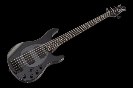 Music Man USA Sterling 5 HH SBK - Stealth Black