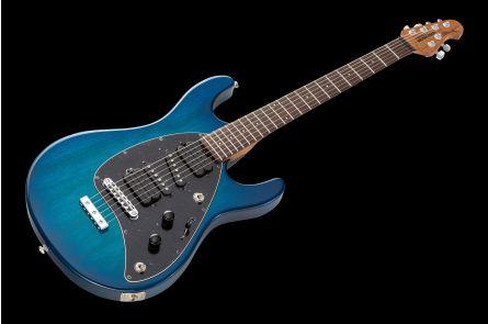 Music Man USA Steve Morse STD NB - PDN Neptune Blue Roasted Neck Limited Edition RW