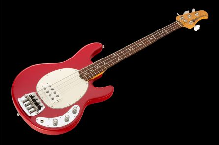 Music Man USA Classic Stingray 4 CLR - Classic Red RW Flame WHPG