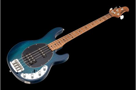 Music Man USA Stingray 4 HS NB - PDN Neptune Blue Roasted Neck Limited Edition MN