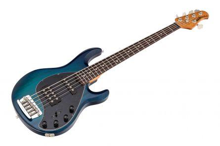 Music Man USA Stingray 5 HS NB - PDN Neptune Blue Roasted Neck Limited Edition RW - 1-pc body