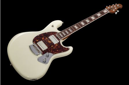 Music Man USA Stingray Guitar BFR White Smoke - Limited Edition