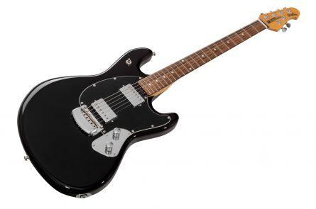 Music Man USA Stingray Guitar BK - Black RW