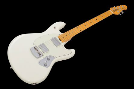 Music Man USA Stingray Guitar IW - Ivory White MN