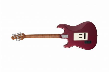Music Man USA Cutlass RS HSS Guitar MM - Maroon Mist RW