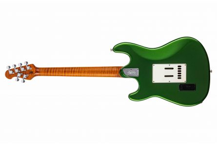Music Man USA Cutlass RS SSS Guitar EV - Charging Green MN